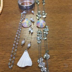 Jewelry - Mermaid Inspired Jewelry Set (5 piece)